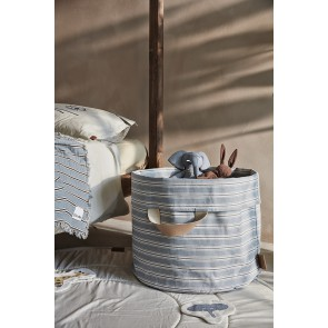 Soft Cotton Blanket - Sandy stripe