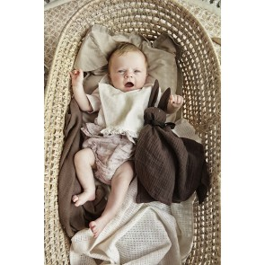 Elodie - Cellular Blanket, Chocolate
