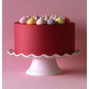 Cake stand Wave – pink