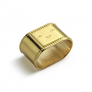 Elodie - Napkin Ring - Matt gold/Brass