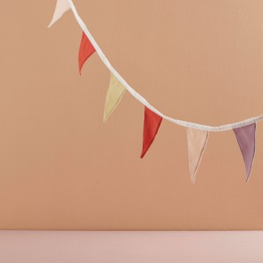 Kid's Concept - Bunting purple/red