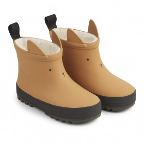 Liewood -  Thermo rain boot, Mustard/black mix