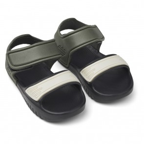 Liewood - Blumer sandals, Hunter/black mix