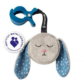 Whisbear - A Humming Bunny, grey