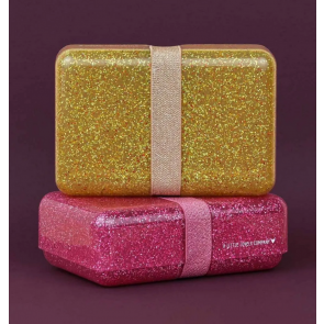 A Little Lovey Company - Lunch box: Glitter - gold