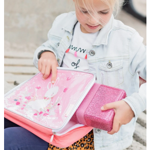 A Little Lovey Company - Lunch box Glitter - pink