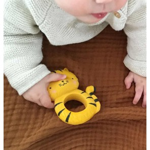 A Little Lovely Company - Teething ring, Tiger