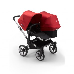 Bugaboo Donkey 3 Duo ALU/BLACK-RED