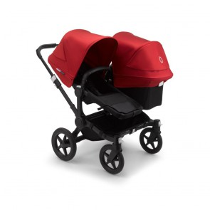 Bugaboo Donkey 3 Duo BLACK/BLACK-RED