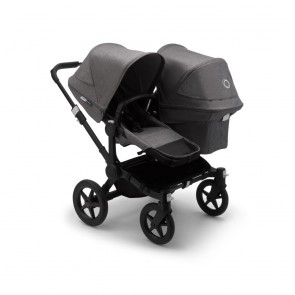 Bugaboo Donkey 3 Duo BLACK/GREY MELANGE