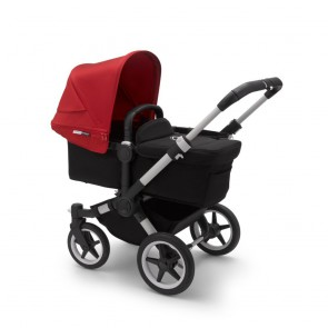 Bugaboo Donkey 3 Mono ALU/BLACK-RED