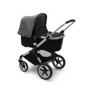 Bugaboo Fox 2 ALU/BLACK-GREY MELANGE