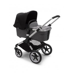 Bugaboo Fox 2 ALU/GREY MELANGE-BLACK