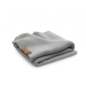 Bugaboo soft wool blanket - grey melange