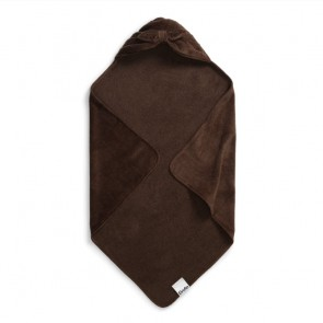 Hooded towel - Chocolate Bow