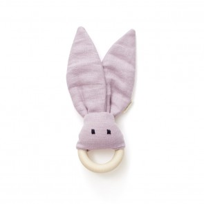 Kid's Concept -  Bite ring linen pink