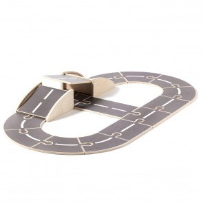Kid's Concept - Wooden car track Aiden