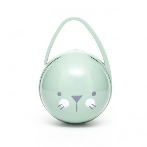 Suavinex - Duo Soother Holder Hygge Premium, green