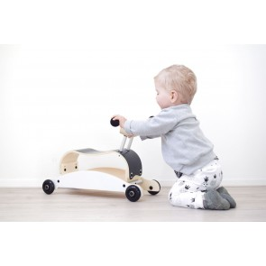 Wishbone Mini-Flip Walker - aqua