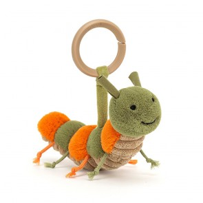 Jellycat - Little Christopher Caterpillar Rattle