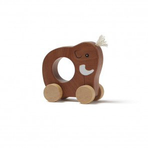Kid's concept - Mammoth push toy brown NEO