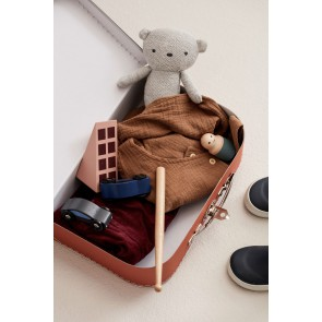 Kid's Concept - suitcase paper 2-set rust