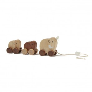 Kid's Concept - Mammoth family pull toy nature NEO