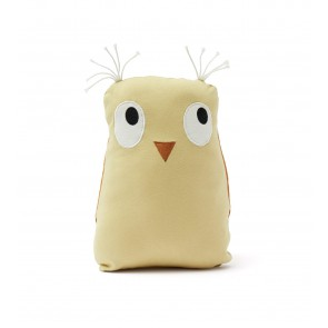 Kid's concept -  Soft toy owl Edvin, green