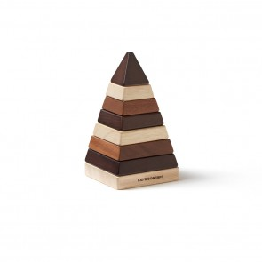 Kid's Concept - Stacking pyramid natural NEO