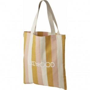 Liewood - Tote bag - small Stripe Peach/sandy/yellow mellow