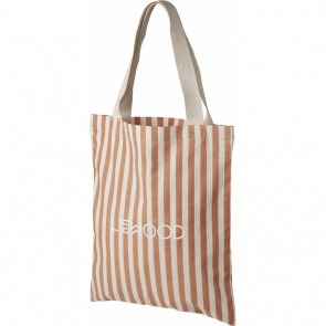Liewood -  Tote bag - small Stripe Tuscany rose/sandy
