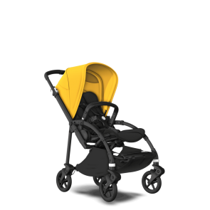 Bugaboo Bee Sunrise Yellow / black chassis