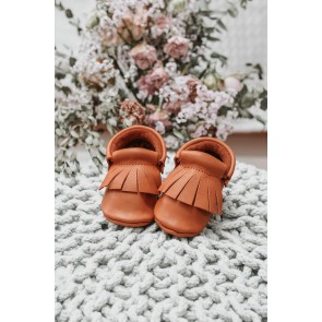 Minimellows  - Baby moccasins Maple