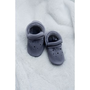 Minimellows  - Baby moccasins Grey