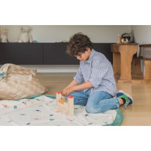 Play&Go toy storage bag 2in1 - Dino