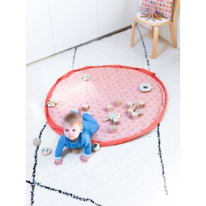 Play&Go baby playmat 3v1 - Animal faces
