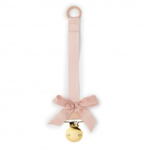 Pacifier Clip - Powder Pink
