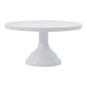 Cake stand small - White