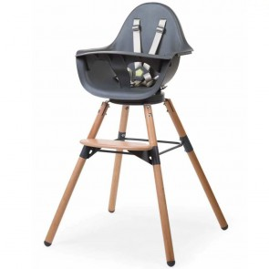 Childhome Evolu 2 high chair Anthracite/Natural