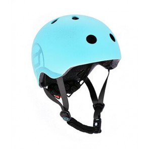 Children helmet Scoot&Ride - Blueberry S-M