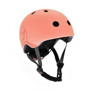 Children helmet Scoot&Ride - Peach S-M