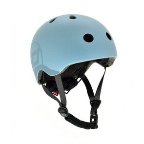 Children helmet Scoot&Ride - Steel S-M