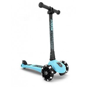 SCOOT&RIDE  - Highwaykick 3 LED - Blueberry