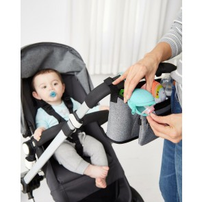 Grab & Go Silicone Pacifier Holder- Turquoise