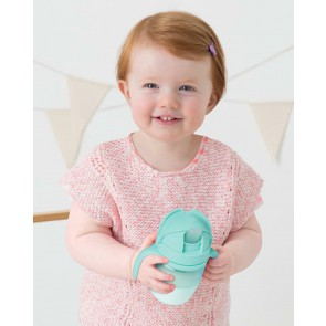 Skip Hop - Sip-to-Straw Cups-Teal