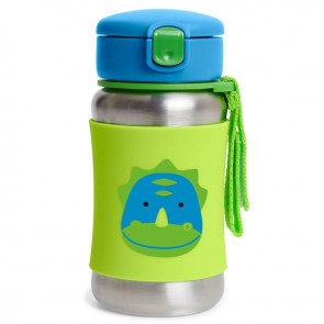 Zoo SS Straw Bottle - Dino