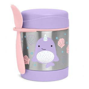 Zoo Food Jar Narwhal