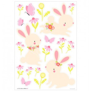A Little Lovely Company - Wall sticker Bunny