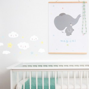 A Little Lovely Company - Wall Sticker Cloud